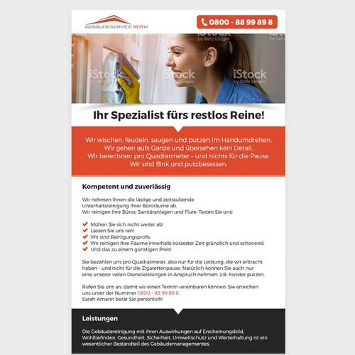 Gebäudeservice Roth newsletter