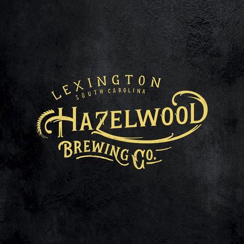 Hazelwood brewing company logotype