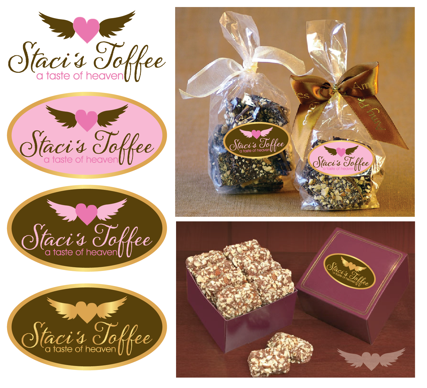 Help Staci's Toffee with a new logo