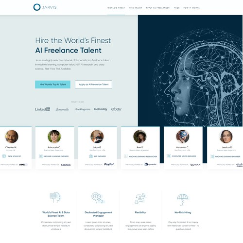 Jarvis AI Freelance Talent