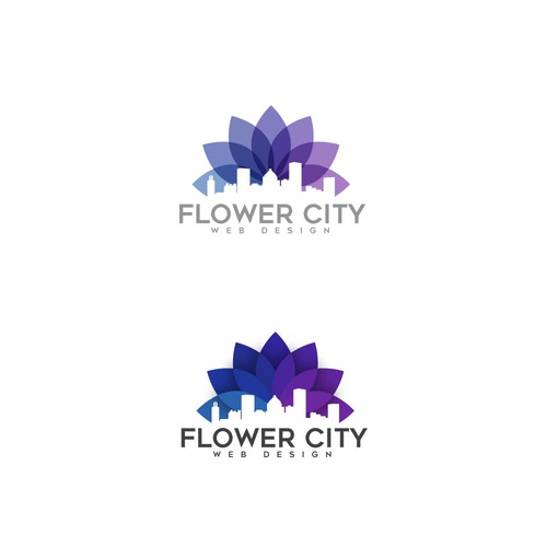 Flower City Web Design Logo