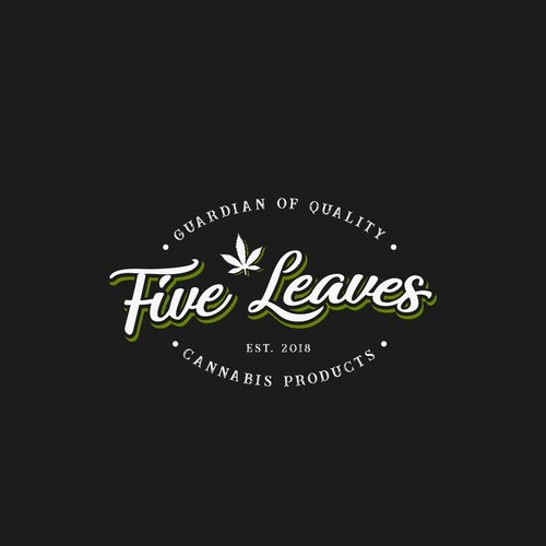 Proposal logo for Five Leaves