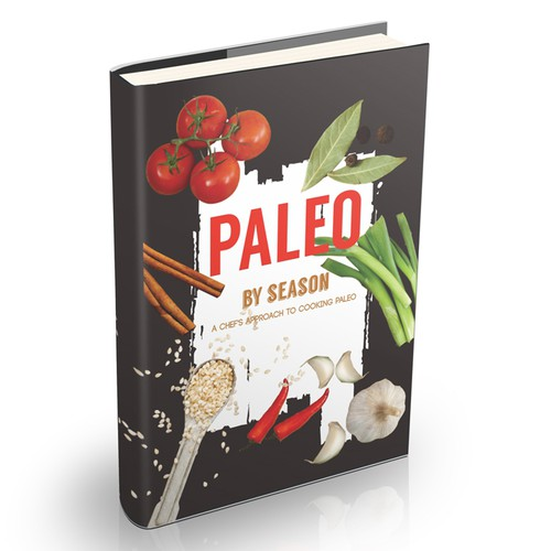 Paleo cook book needs a cover