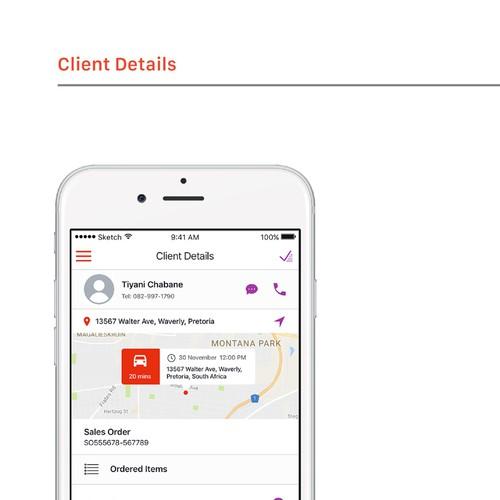 Field Service mobile app