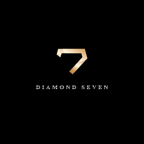 Simple and Clean Logo concept for Diamond Seven