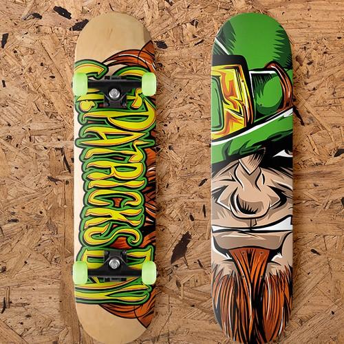 Skateboard Design Vector