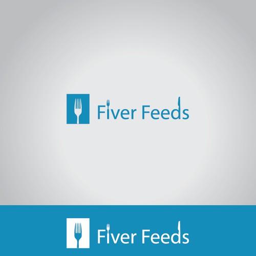Winning Logo For Fiver Feeds.