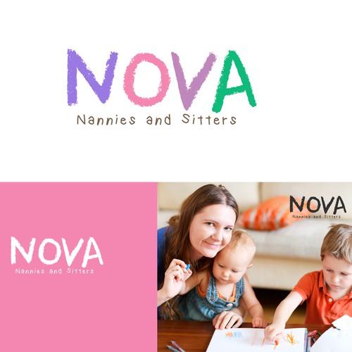 Logo design for NOVA company