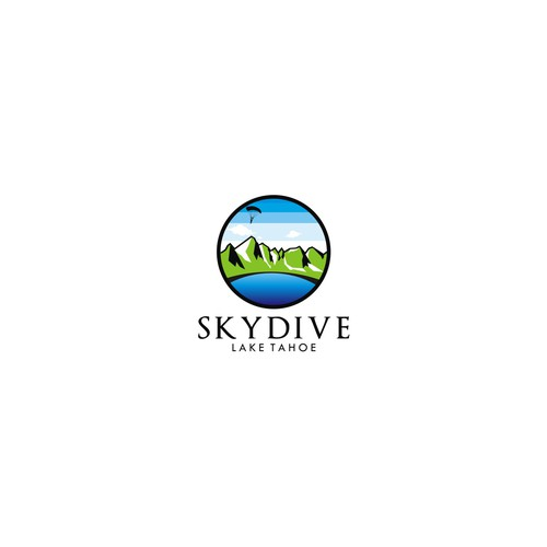 Skydive Lake Tahoe - Logo Contest - Enjoy!