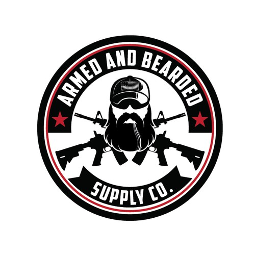 ARMED AND BEARDED