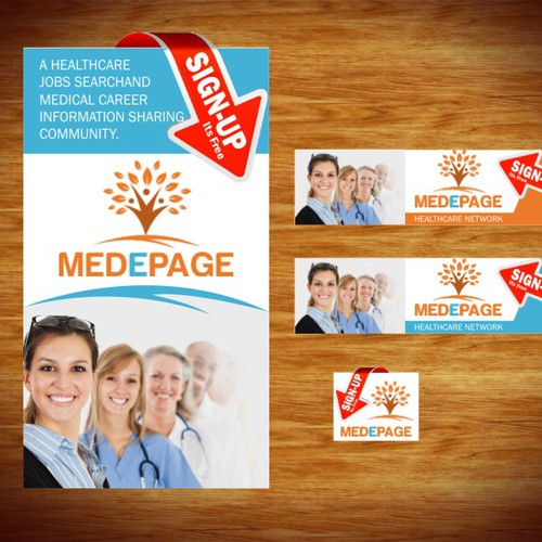 Create the next banner ad for Medepage.com