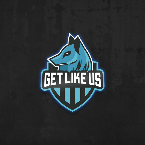 Logo Design for E-team Get Like Us