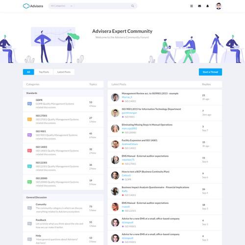 Community Forum Design