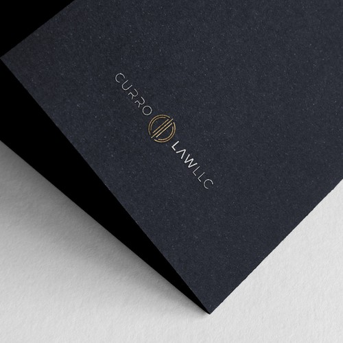 Elegant logo for a law firm