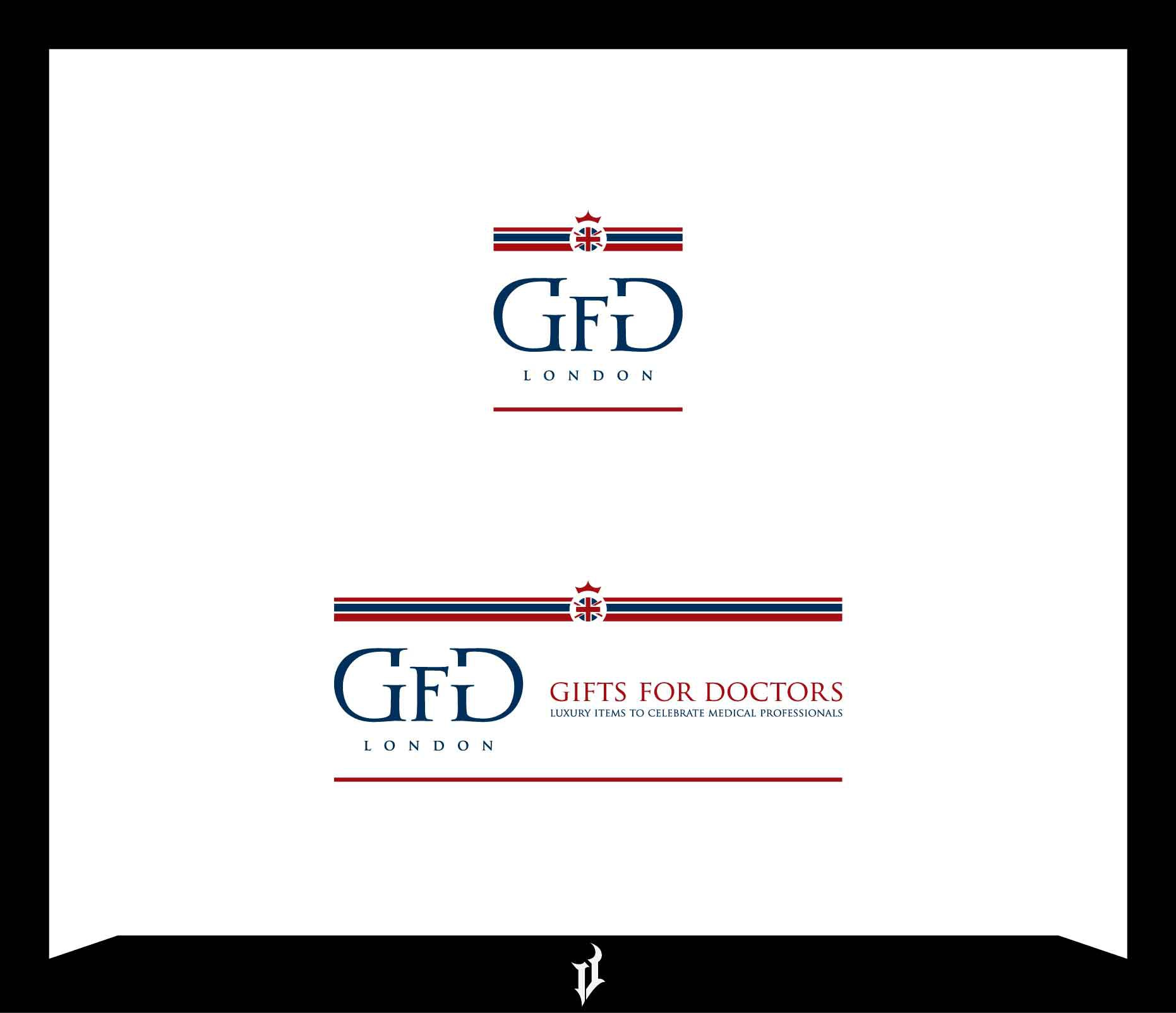 Create a stylish medical logo for GiftsForDoctors.co.uk