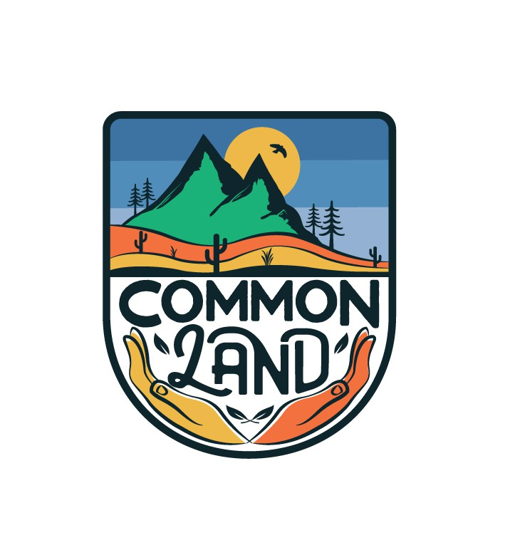Logo for a new podcast series that explores how and why we protect land