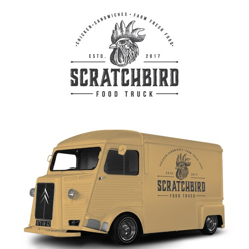 Logo design for the food truck