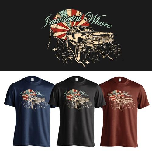 Immortal Whore T-shirt