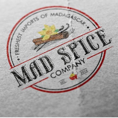 Logo for import company
