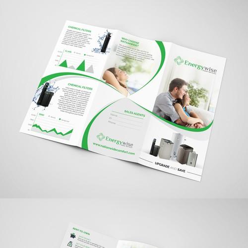 Tri-fold Letter brochure design