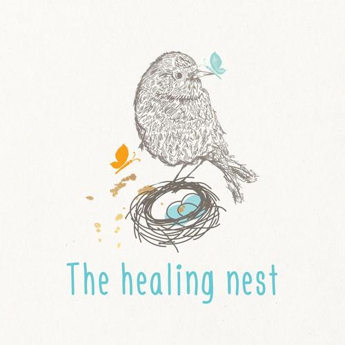 healing nest logo