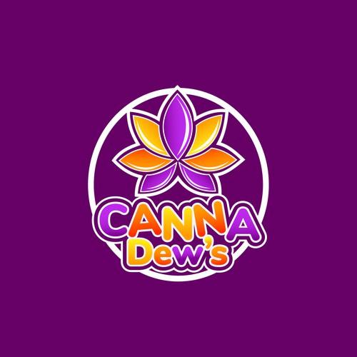 Playful Logo for Canna Dew's