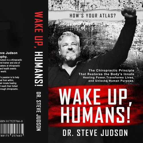 Book cover for WAKE UP, HUMANS!