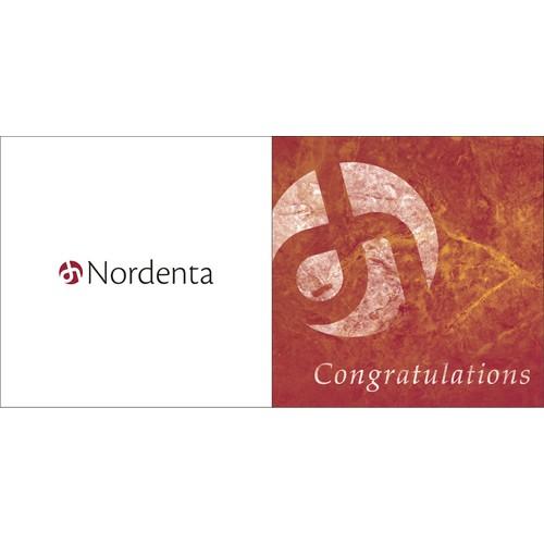 Nordenta Congratulations Card