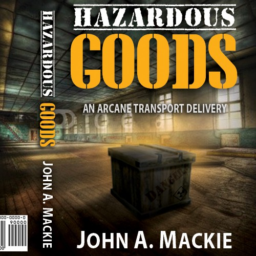 New book or magazine cover wanted for J Mackie