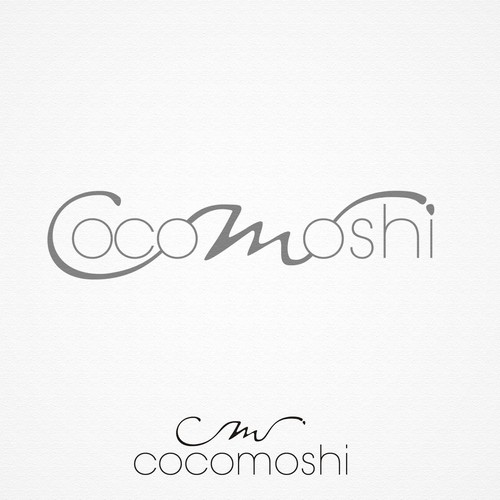 create a fresh and unique logo for cocomoshi that stands for quality and design