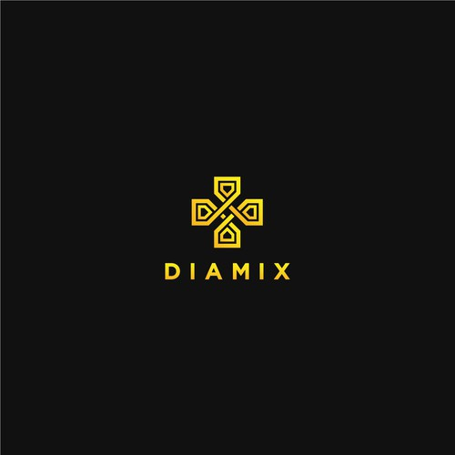 Diamix Logo design