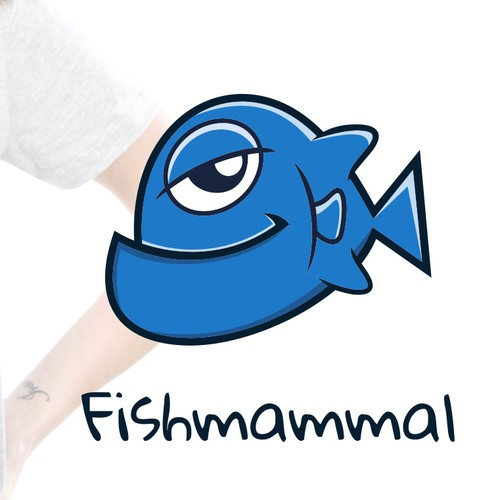 Create the next logo for Fishmammal Clothing