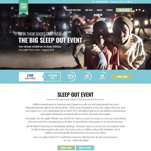 Sleep:Out Campaign