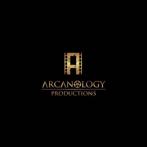 Logo for a production company