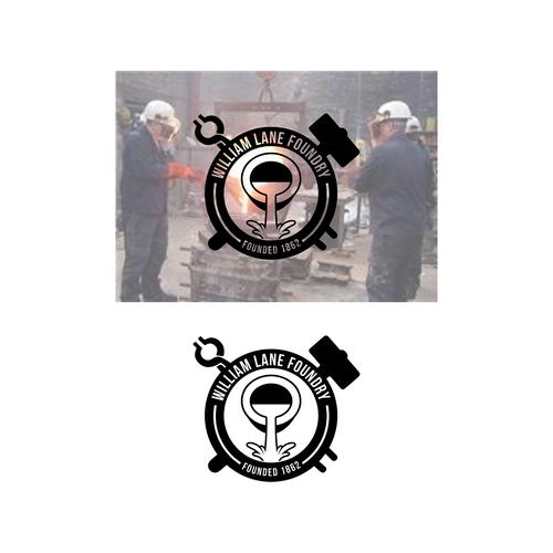 Logo design for William Lane Foundry