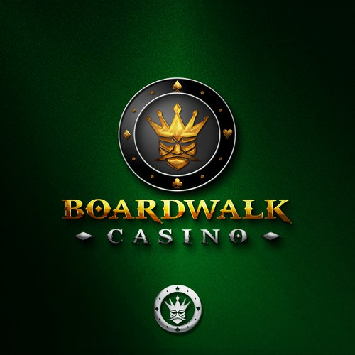 Logo design for Boardwalk Casino