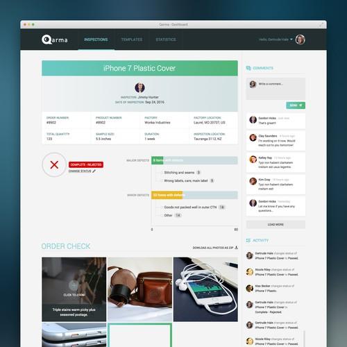 Web app design for disruptive Danish start-up