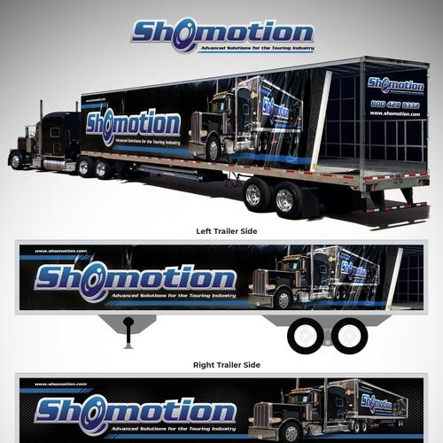 3D Trailer Wrap for Shomotion