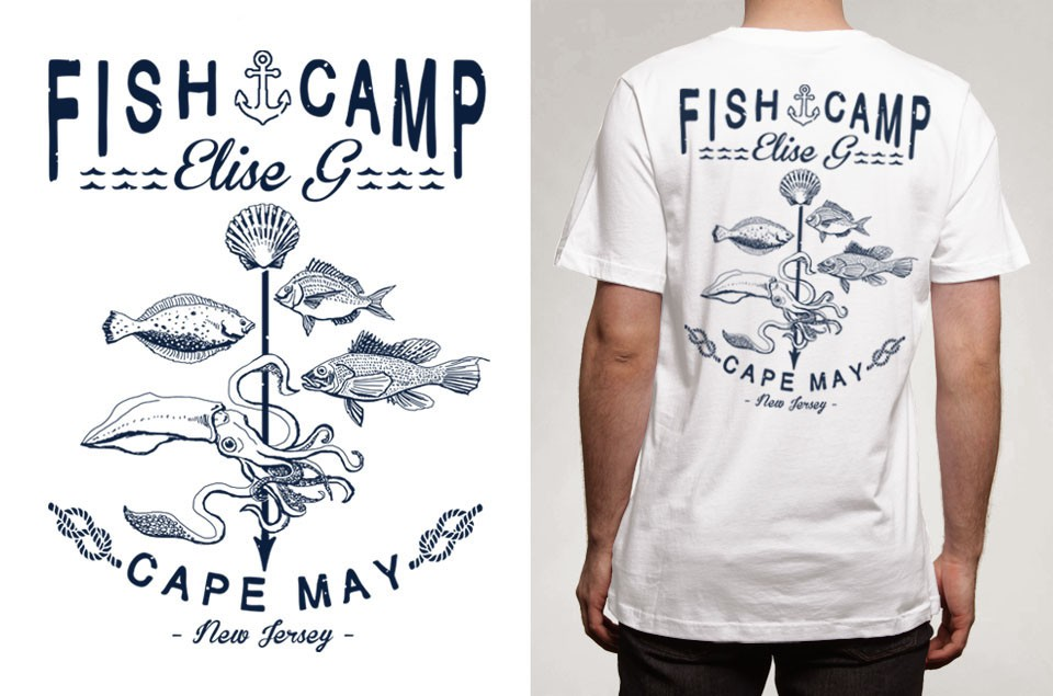 Fisherman Apparel- Simple Design