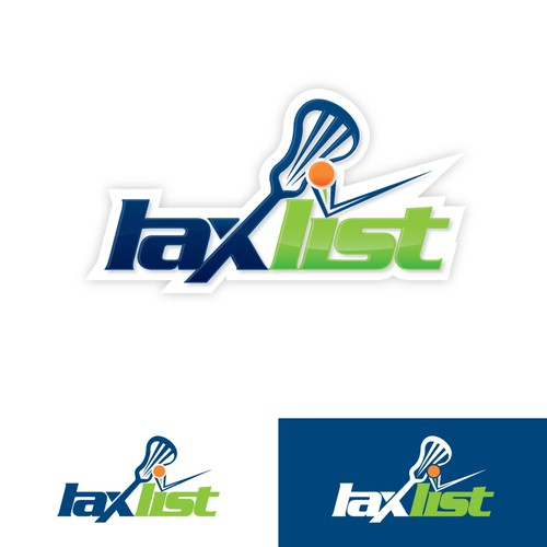 Official Logo needed for Lax List, a web app for lacrosse fans