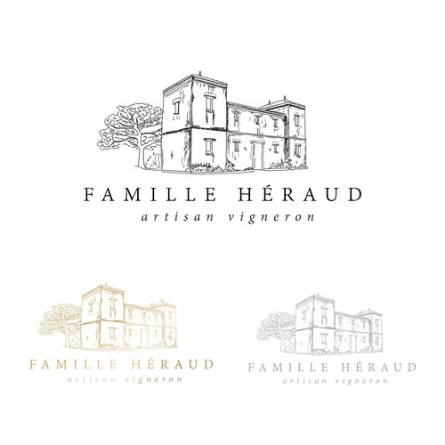 Winery logo design