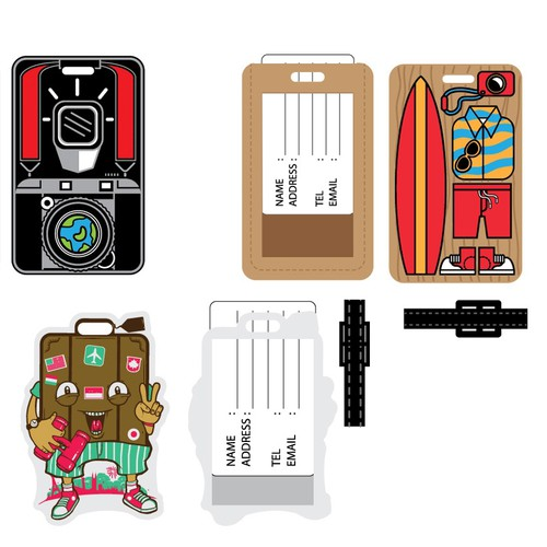 Captivating designs for Luggage Tags