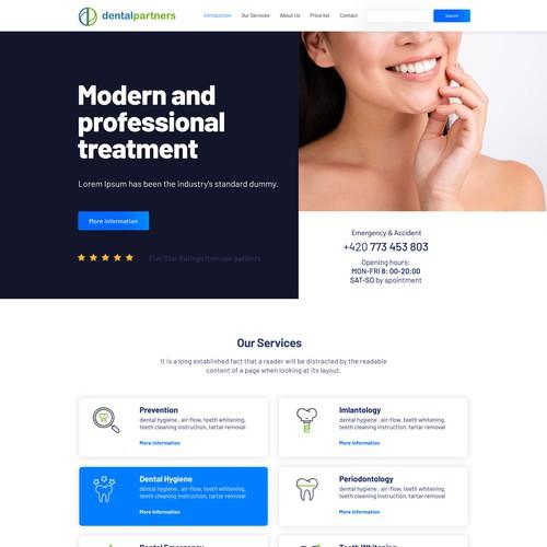 Dental Partners Website