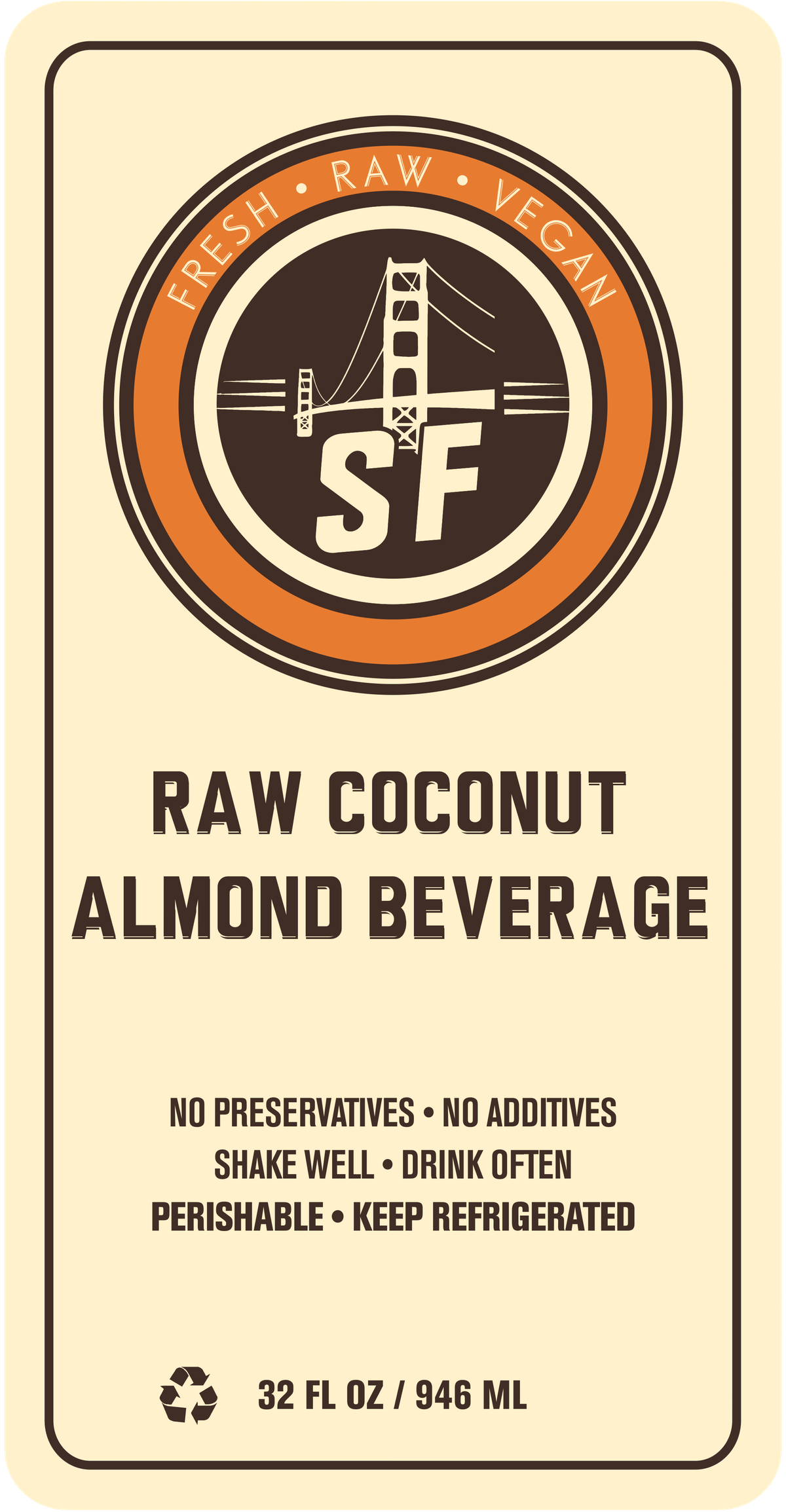 Update to existing bottle label