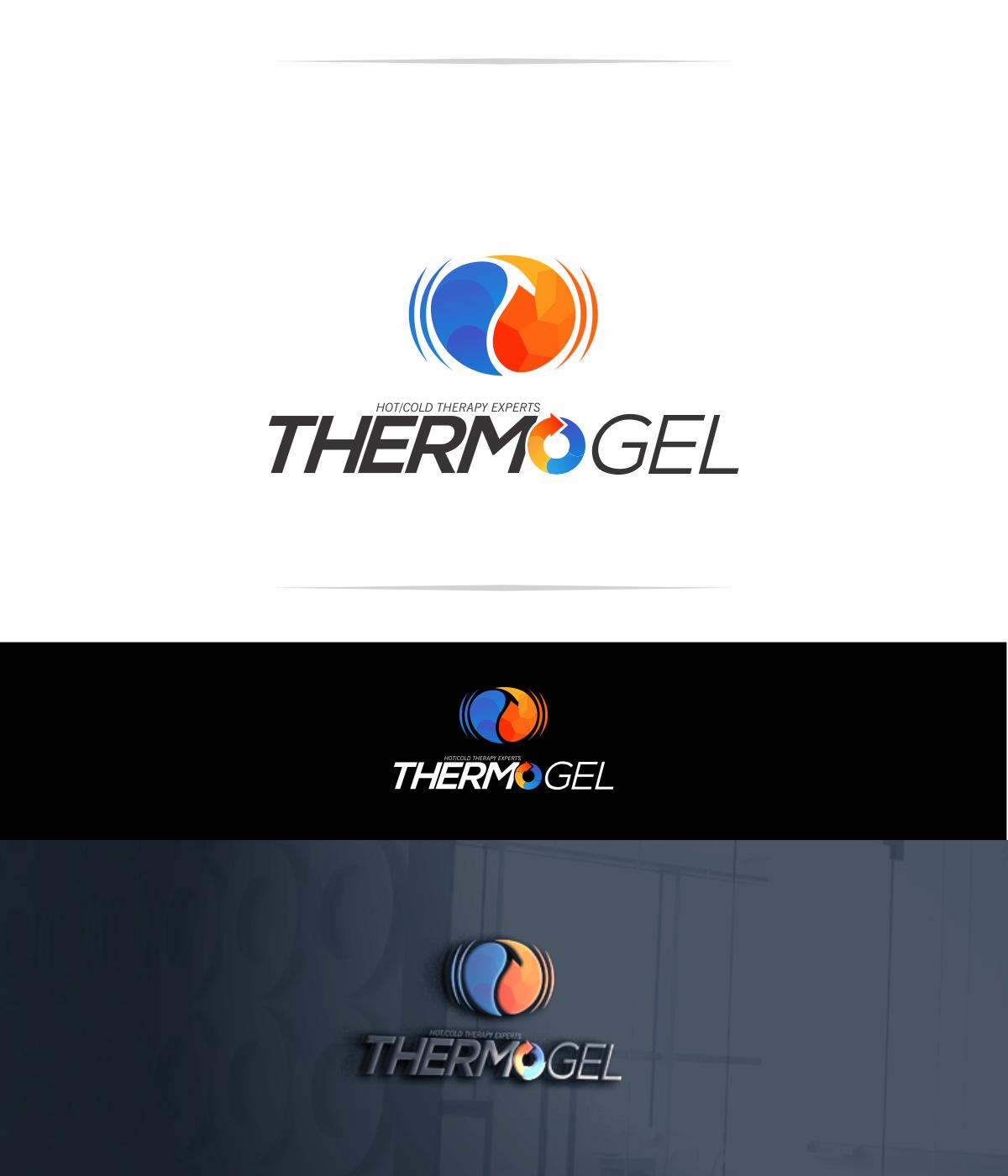 Diseña un logo moderno para Thermo Gel