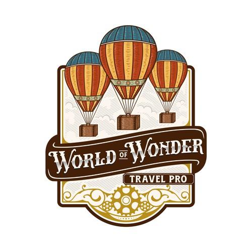 Vintage logo for World of Wonder
