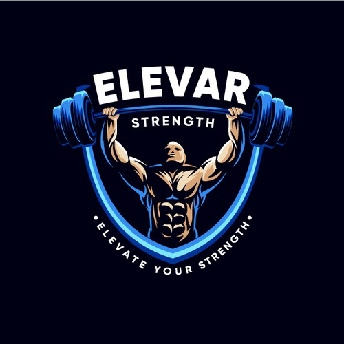 Mascot Logo for Elevar Strength