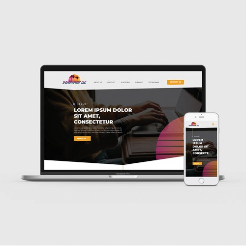 Website Design for Lead Generation Company