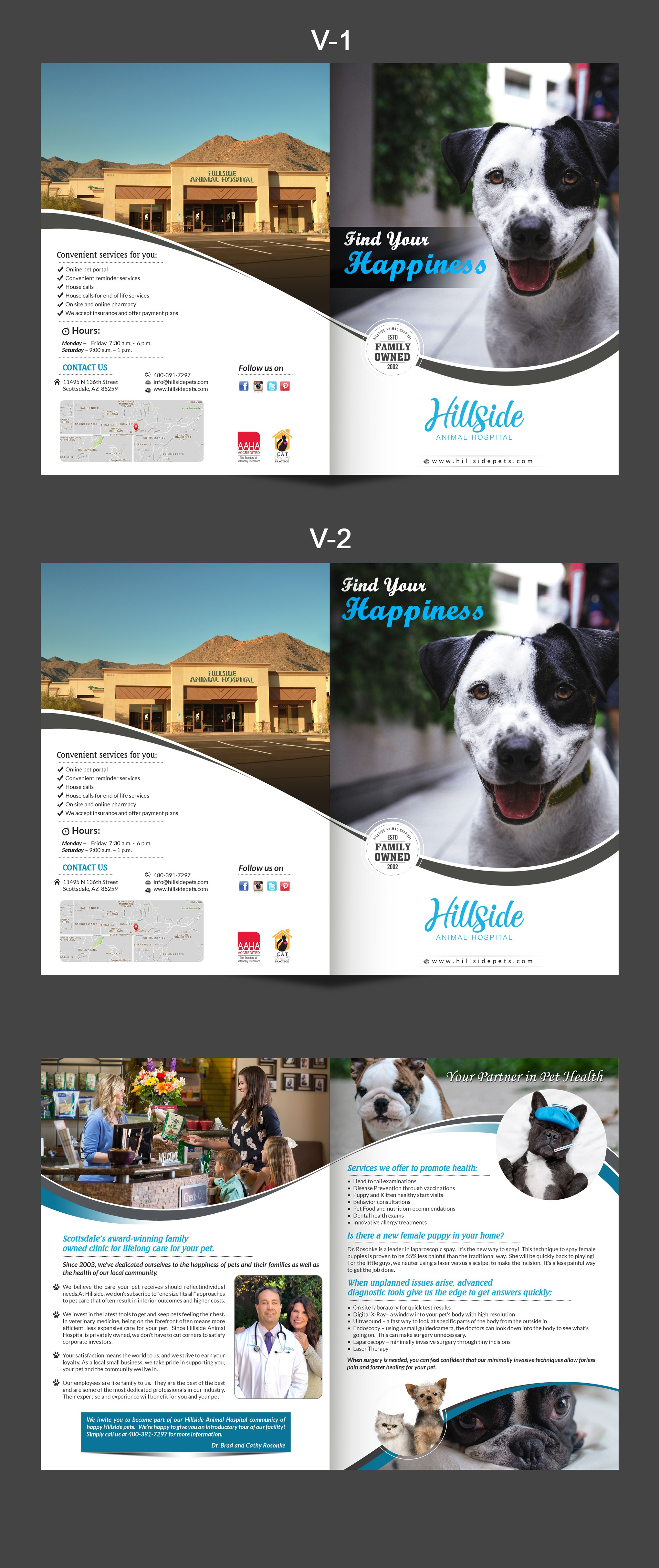Scottsdale's Top Veterinary Hospital Brochure - Hillside Animal Hospital