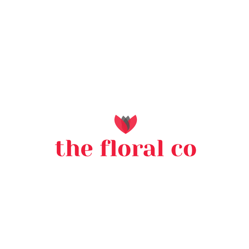 Create a logo for a new floral company